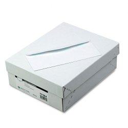 Quality Park - 11184 - Quality Park Laser/Inkjet Printable Bus. Envelopes - Business - #10 - 4 1/8 Width x 9 1/2 Length - 24 lb - Gummed - Wove - 500 / Box - White