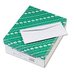 Quality Park - 11212 - Quality Park No. 10 Security Business Envelopes - Security - #10 - 4 1/8 Width x 9 1/2 Length - 24 lb - Gummed - Wove - 500 / Box - White