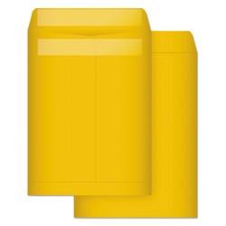 Quality Park - 43763 - Quality Park Kraft Redi-Seal Envelopes - 10 Width x 13 Length - Self-sealing - Kraft - 100 / Box