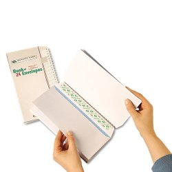 Quality Park - 69024 - Quality Park Redi Strip Booklet Envelope - Booklet - #10 - 9 1/2 Width x 4 1/8 Length - 24 lb - Peel & Seal - Wove - 36 / Pack - White