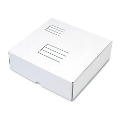Quality Park - 74106 - Quality Park White Corrugated Binder Mailer - Corrugated - 12 1/4 Width x 12 Length - 3 7/8 Gusset - Gummed - Fiberboard - 1Each - White
