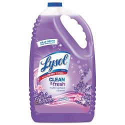 Reckitt Benckiser - 88786 - Lysol Clean/Fresh Lavender Cleaner - Liquid - 1.13 gal (144 fl oz) - Clean & Fresh Lavender Orchid Scent - 1 Each - Purple
