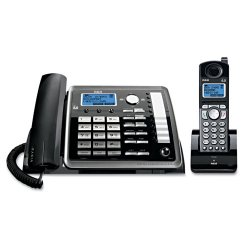 RCA - 25255RE2 - 2-Line Expandable Corded/Cordless Phone with Digital Answering System