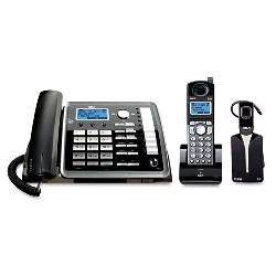 RCA - 25270RE3 - RCA(R) 25270RE3 2-Line Expandable Corded/Cordless/Headset Phone System with Caller ID & Answerer