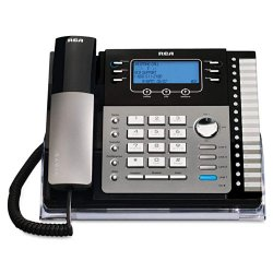 RCA - 25425RE1 - 4-Line Expandable Corded Phone with Auto-Attendant and Digital Answering System