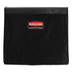 Rubbermaid - 1881783 - Rubbermaid Commercial X-Cart 8-bushel Replacement Bag - 22.40 Width x 30.50 Length - Black - Vinyl - 2/Carton - Trash Compactor