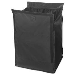 Rubbermaid - FG1902701 - Executive Quick Cart Liner, Large, 12 4/5 x 16 x 22 1/5, Black, 6/Carton