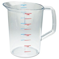 Rubbermaid - RCP 3218 CLE - Bouncer Measuring Cup, 4qt, Clear