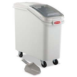 Rubbermaid - RCP 3600-88 WHI - ProSave Mobile Ingredient Bin, 20.57gal, 13 1/8w x 29 1/4d x 28h, White