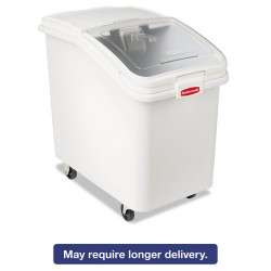 Rubbermaid - FG360388WHT - ProSave Mobile Ingredient Bin, 30.86gal, 18w x 29 3/4d x 28h, White