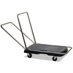 "Rubbermaid - FG440000BLA - Utility-Duty Home/Office Cart, 250 lb Capacity, 20 1/2"" x 32 1/2"" Platform, BK"