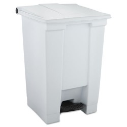 Rubbermaid - 6144-WHT - 12-gal Step-on Trash Container