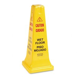Rubbermaid - 6277-YEL - 25 Safety Cone W/multi-lin caution Imprint