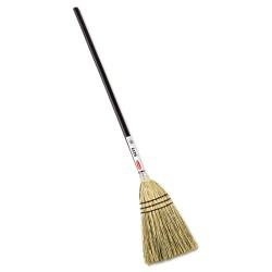 Rubbermaid - FG637300BRN - Brute Angled Lobby Broom100% Corn Brown Color