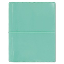 Rediform - 022515 - Domino Patent A5 Organizer, 8 1/4 x 5 3/4, Turquoise, 2018