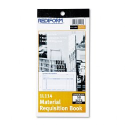 Rediform - 1L114 - Rediform Material Requisition Book (Each)