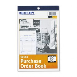 Rediform - 1L141 - Rediform Purchase Order Book (Each)