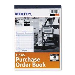 Rediform - 1L146 - Rediform Purchase Order Book (Each)