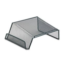 Eldon - 22151 - Mesh Telephone Desk Stand, 10 x 11 1/4 x 5 1/4, Black
