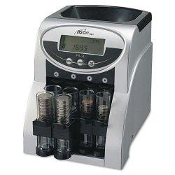 Royal Sovereign - FS-2D - Fs-2d 2 Row Coin Sorter 312 Coins Per Min W/ Digital Display