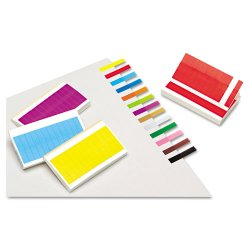 Redi-Tag - 20202 - Removable/Reusable Page Flags, 13 Assorted Colors, 240 Flags/Pack