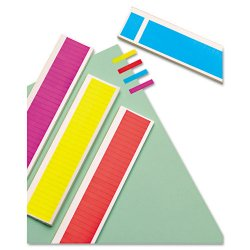 Redi-Tag - 20205 - Removable Page Flags, Four Assorted Colors, 900/Color, 3600/Pack