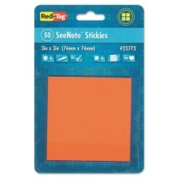 Redi-Tag - 23773 - Pads Neon Orange Ast