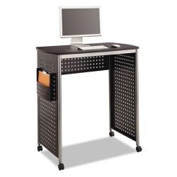Safco - 1908BL - Computer Desk, Scoot(TM), Black, 42 in. H