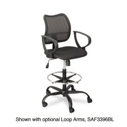 Safco - 3395BL - Mesh Extended Height Chair (Each)