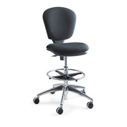 Safco - 3442BL - Safco Metro Collection Extended Height Chair (Each)