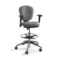 Safco - 3442GR - Safco Metro Collection Extended Height Chair (Each)