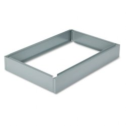 Safco - 4995GRR - Safco 6 High Base for 5-Drawer Steel Flat Files - 40.5 Width x 26.8 Depth x 6 Height - Steel - Gray