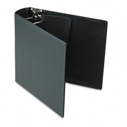 Samsill - 17680 - Samsill DXL/Contour Cover D-Ring Binders - 3 Binder Capacity - Letter - 8 1/2 x 11 Sheet Size - 480 Sheet Capacity - 3 x D-Ring Fastener(s) - Black - 2 lb - Recycled - 1 Each