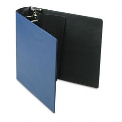 Samsill - 17682 - Samsill DXL/Contour Cover D-Ring Binders - 3 Binder Capacity - Letter - 8 1/2 x 11 Sheet Size - 480 Sheet Capacity - 3 x D-Ring Fastener(s) - Blue - 2 lb - Recycled - 1 Each