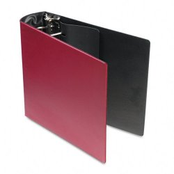 Samsill - 17684 - Samsill DXL/Contour Cover D-Ring Binders - 3 Binder Capacity - Letter - 8 1/2 x 11 Sheet Size - 480 Sheet Capacity - 3 x D-Ring Fastener(s) - Burgundy - 2 lb - Recycled - 1 Each