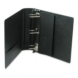 Samsill - 17780 - Samsill DXL Locking D-Ring Binders - 3 Binder Capacity - Letter - 8 1/2 x 11 Sheet Size - 480 Sheet Capacity - 3 x D-Ring Fastener(s) - Black - 2 lb - Recycled - 1 Each
