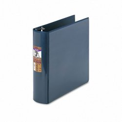 Samsill - 17782 - Samsill DXL Locking D-Ring Binders - 3 Binder Capacity - Letter - 11 x 8 1/2 Sheet Size - D-Ring Fastener - Navy Blue - Recycled - 1 Each