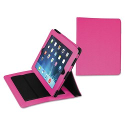 Samsill - 35008 - Samsill Fashion Carrying Case for iPad Air - Pink - Pink Debossed Diamond - 9 Height x 7 Width x 1 Depth