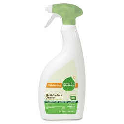 Seventh Generation - 22810 - Seventh Generation Disinfecting Multi-Surface Cleaner - Spray - 26 oz (1.62 lb) - Lemongrass Citrus Scent - 1 Each