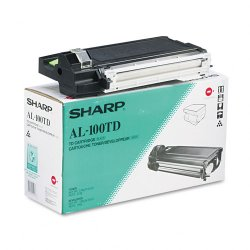 Sharp - AL-100TD - Sharp Original Toner Cartridge - Laser - 6000 Pages - Black - 1 Each