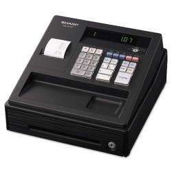 Sharp - XEA107 - XE A107 Cash Register, Drum Printer, 80 Lookups, 4 Clerks, LED