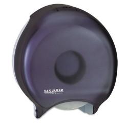 San Jamar - SAN R2000TBK - Single-Roll Jumbo Bath Tissue Dispenser, 10 1/4 x 5 5/8 x 12, Black Pearl