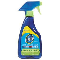 S.C. Johnson & Son - 644973 - Pledge Multi Surface Everyday Cleaner - Ready-To-Use Spray - 0.13 gal (16 fl oz) - Bottle - 1 Each - Clear