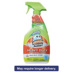 S.C. Johnson & Son - 668012 - Scrubbing Bubbles HD Cleaner - Spray - 0.25 gal (32 fl oz) - Fresh Scent - 1 Each - Clear