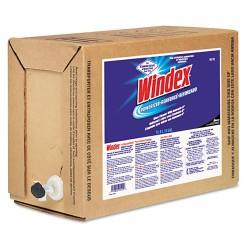 S.C. Johnson & Son - 682251 - Windex Powerized Cleaner Bag-In-A-Box - Ready-To-Use Liquid - 5 gal (640 fl oz) - 1 Box - Blue, White