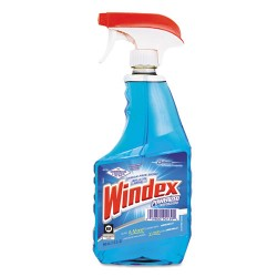 S.C. Johnson & Son - 682259 - Windex Powerized Glass Cleaner Spray - Ready-To-Use Spray - 0.25 gal (32 fl oz) - 1 Each - Blue