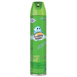 S.C. Johnson & Son - 682264 - Scrubbing Bubbles Restroom Cleaner - Ready-To-Use Aerosol - 0.20 gal (25 fl oz) - Fresh Clean Scent - 1 Each - Clear
