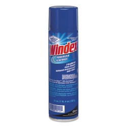 S.C. Johnson & Son - 682276 - Windex Powerized Foam Glass Cleaner - Ready-To-Use Aerosol - 0.15 gal (19.70 fl oz) - 1 Each - Clear