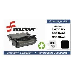 Skilcraft - SKL-64435XA-L - 751000NSH1010 Remanufactured 64415XA Extra High-Yield Toner, Black
