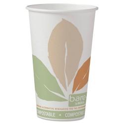 Solo Cup - 316PLA-J7234 - 16 oz. Disposable Hot Cup, Plastic Lined Paper, White, PK 1000